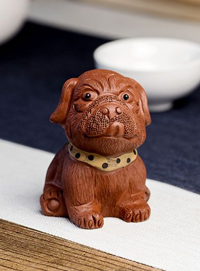 Shar-Pei Dog Yixing Zisha Tea Pet