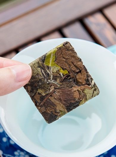 Fuding Shou Mei White Tea Mini Cake