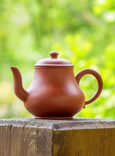 Handmade Pear-Shaped Tall Shui Ping Yixing Zisha Teapot