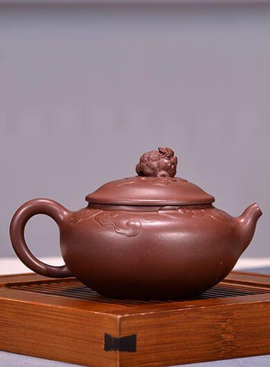 Handmade Lucky Tian Chan Yixing Zisha Teapot