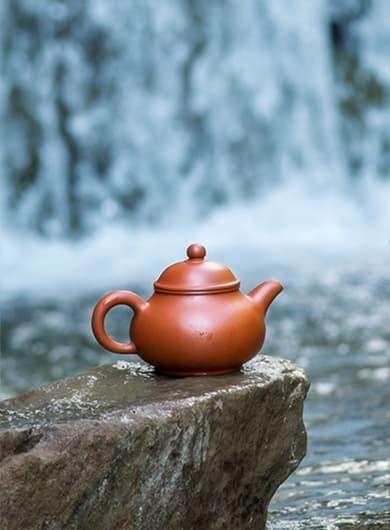 Xiao Pan Yixing Zisha Teapot