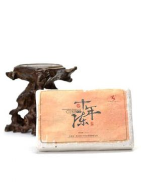 10-Year Aged Raw Pu-erh Brick Tea 2005