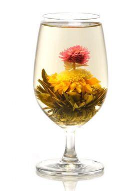 Christmas Tree Flower Tea 1