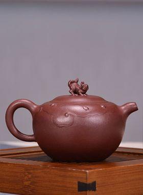 Handmade Pixiu Yixing Zisha Teapot
