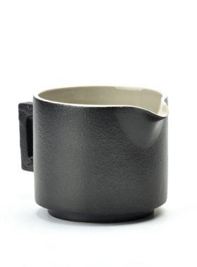 Zen Style (Chan Feng) Black Pottery Tea Pitcher