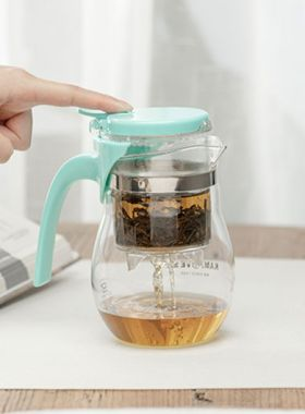 Manually Blow-Molded Glass Infuser Tea Cup 650ml / 22 oz