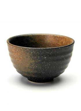 Coarse Pottery Matcha Bowl