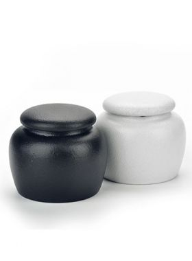 Mini Coarse Pottery Tea Caddy
