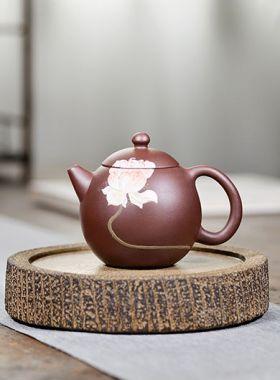 Handmade Dragon Egg Yixing Zisha Teapot