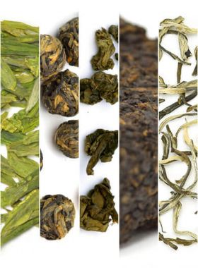 Featured Teas Assortment Samples (5 kinds of tea)