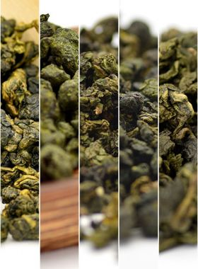 Featured Flavory Oolong Teas Assortment Samples Cateory