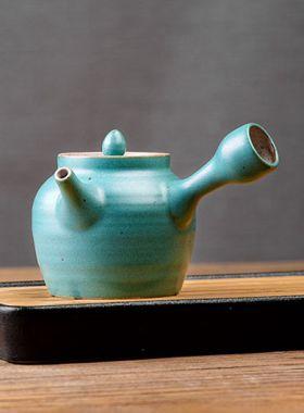 Japanese Style Coarse Pottery Kyusu