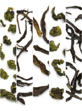 5 Featured Min-Yue Oolong Teas Assortment Samples Category