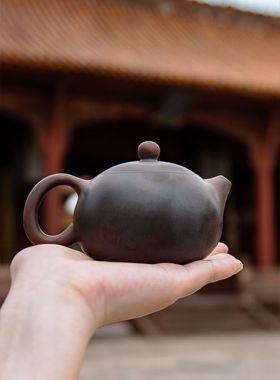 Handmade Qinzhou Nixing Pottery Teapot Xishi