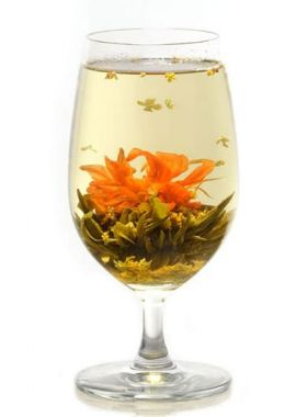 Osmanthus Dancing Flower Tea 1