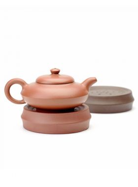 Purple Clay Teapot Coaster