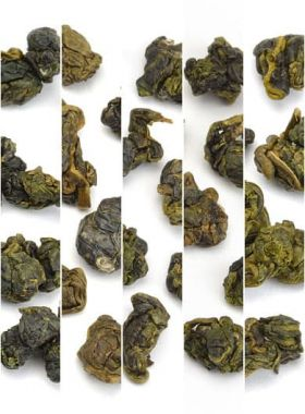 Special Selection of Taiwan High Mountain Oolong Tea Sample Assortment Category