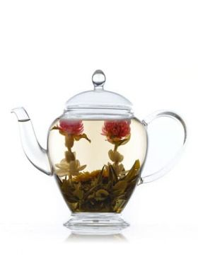 Clear Glass Teapot for Flowering Tea 450 ml / 15.2 oz Category