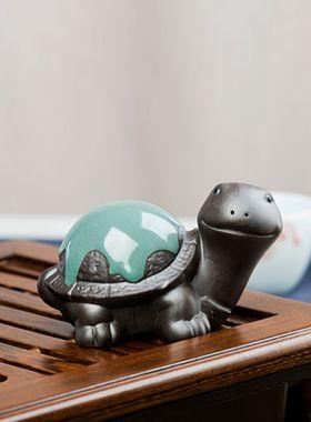 Longevity Turtle Yixing Zisha Tea Pet