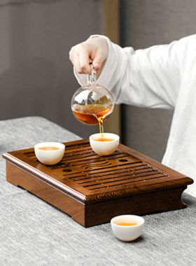 Wenge Wood Tea Tray