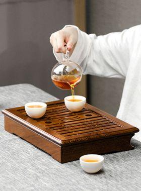 Wenge Wood Tea Tray