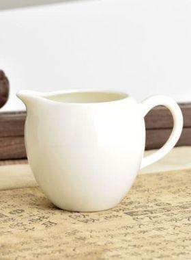White Porcelain Tea Pitcher