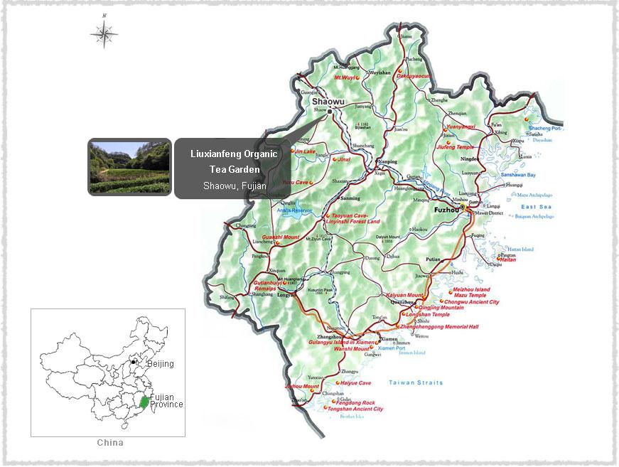 map of shaowu