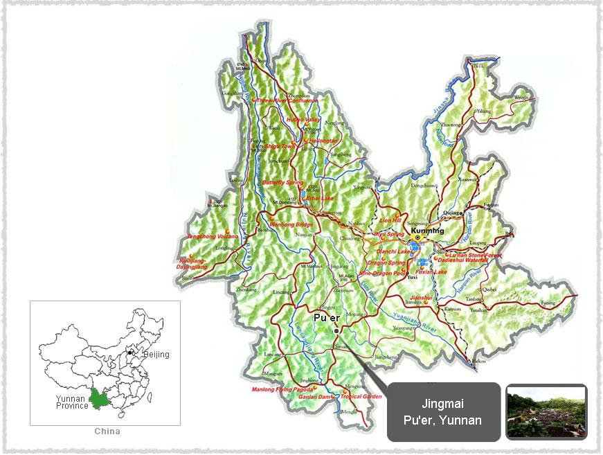 map of jingmai